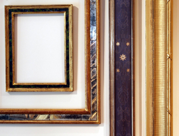 Venetian and American cove frames