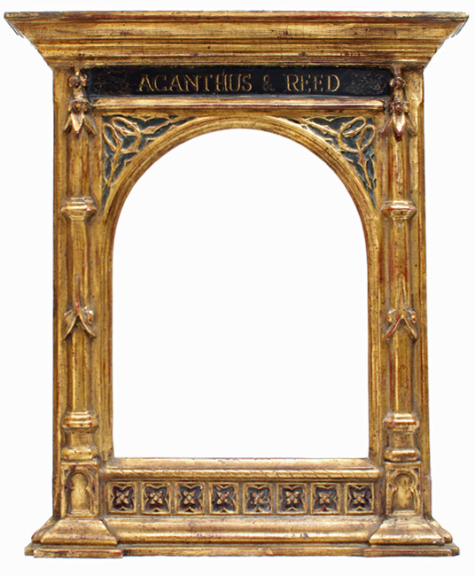 Tabernacle frame with Acanthus and Reed on the frieze